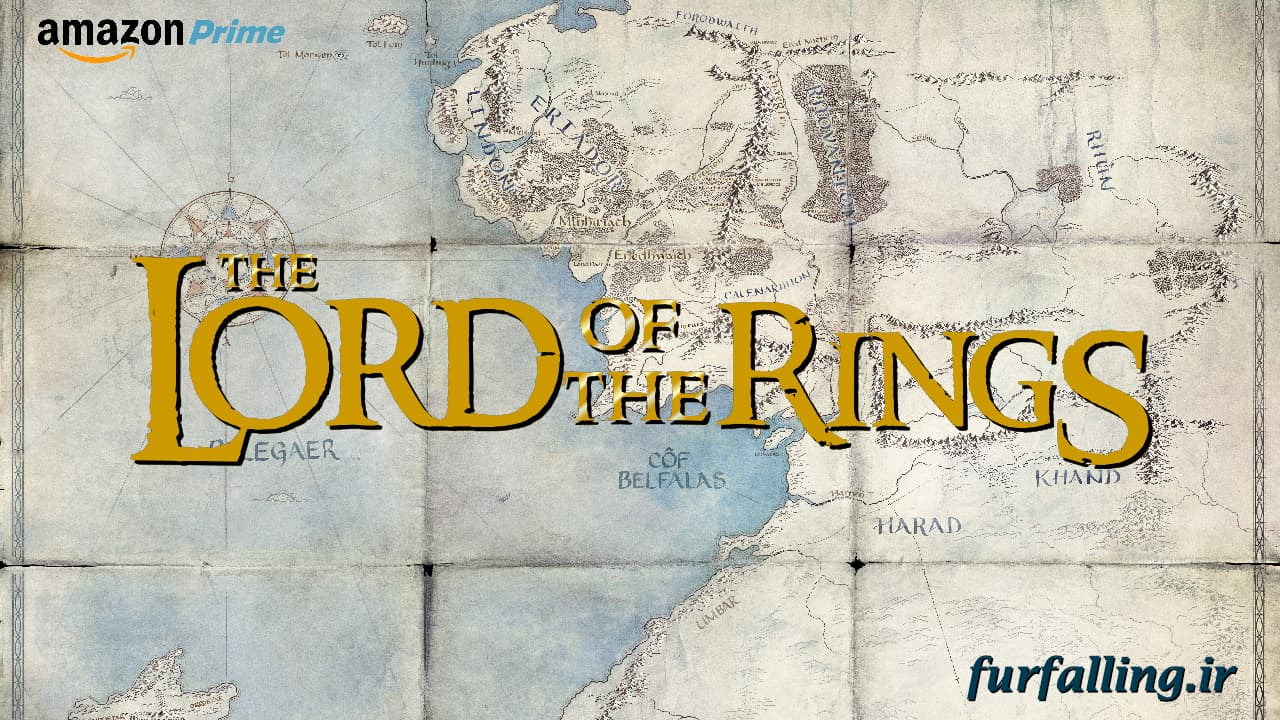 Lord of the Rings Amazon Series Middle Earth Map Wallpaper