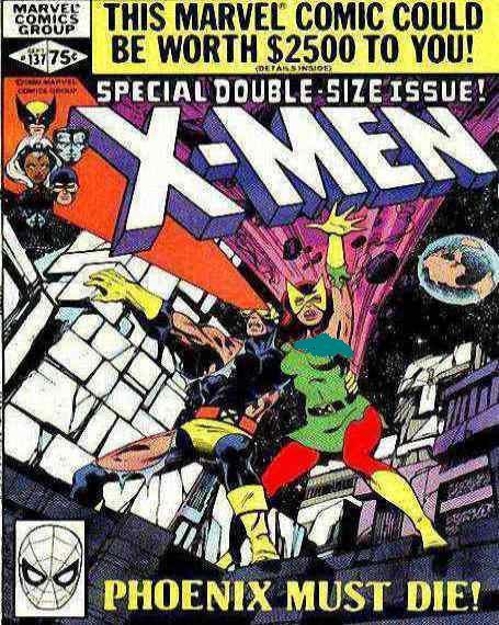 كميك x-men