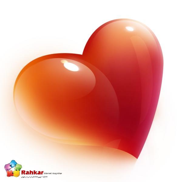 عکس قلب سه بعدی