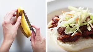 آموزش آشپزی سری پانزدهم طرز تهیه ساندویچ گوشت بز با پوست موز