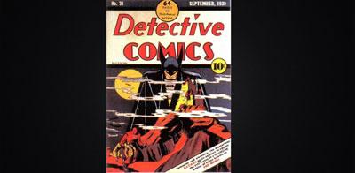 کمیک detective comics