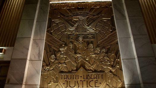 مجسمه پلیس سنترال سیتی