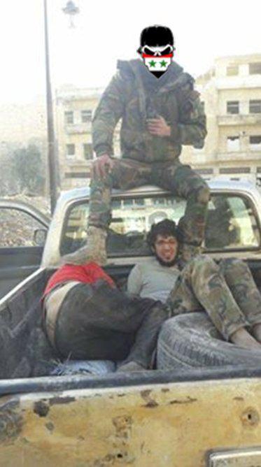 تروریست های القاعده که در حلب شرقی