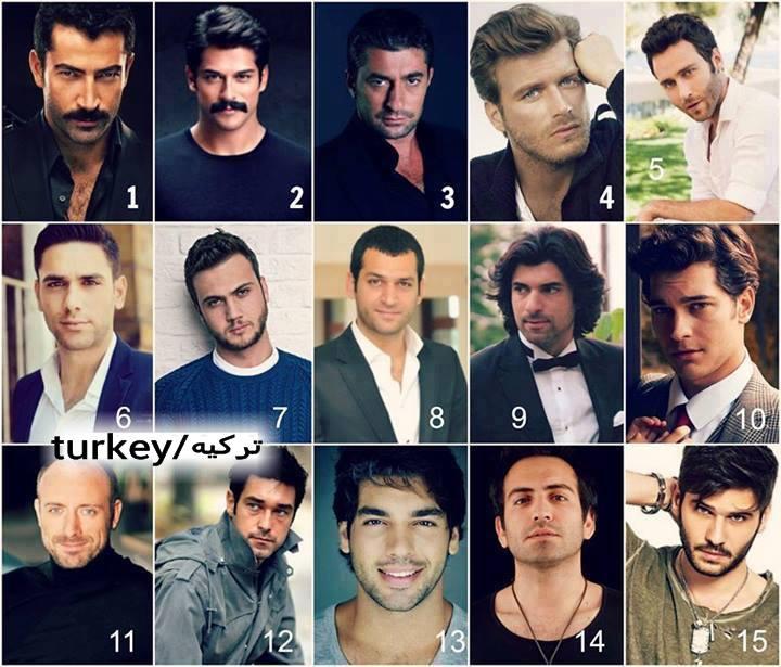 عکس بازیگران ترکیه مرد