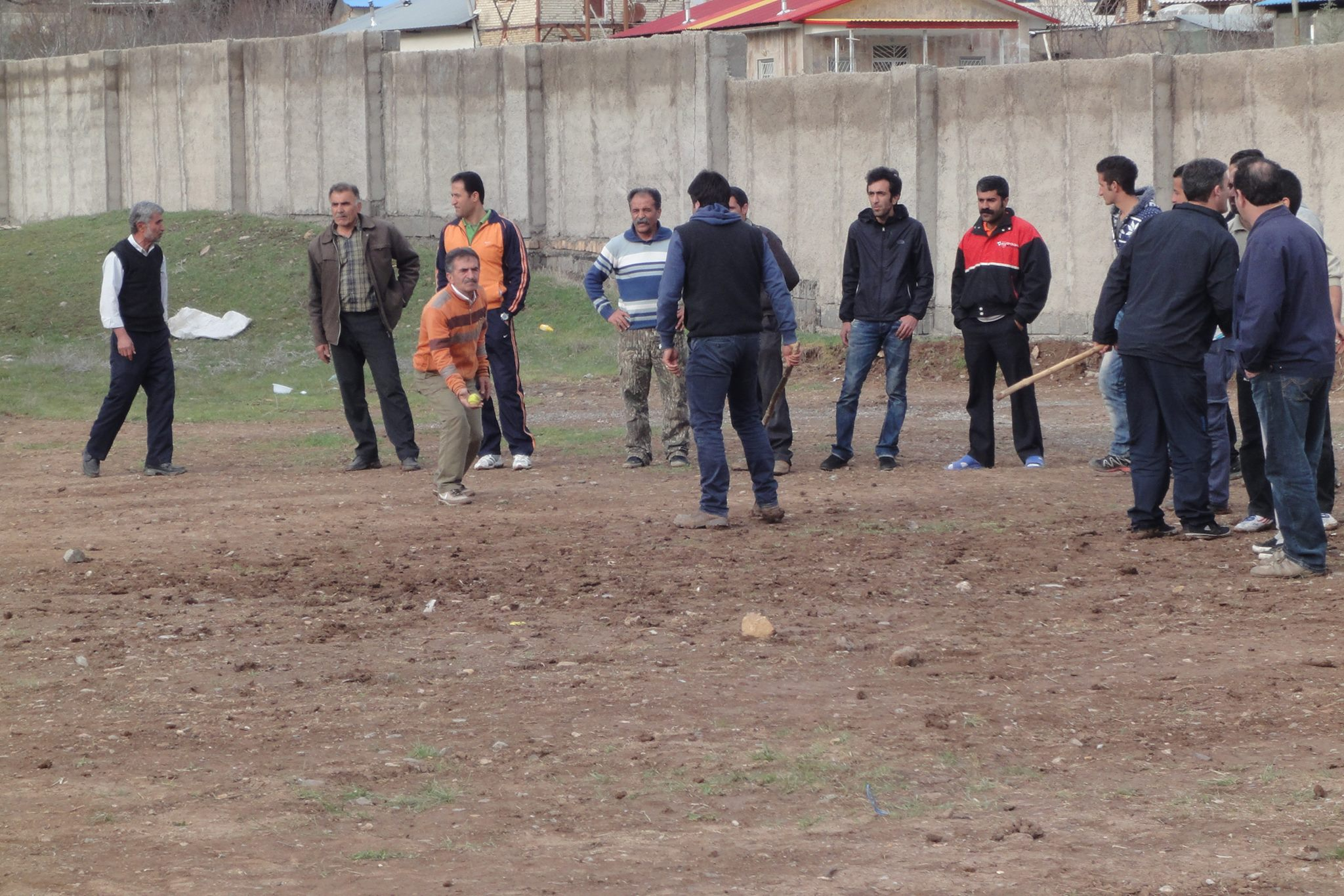 بازی تبکشی روز سیزدهم فروردین 93-روستای اناده عکس از  خانم حدادی.