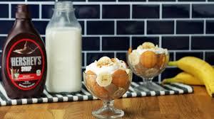 آموزش آشپزی سری 64 ام  طرز تهیه جام پودینگ موز شکلات // ارائه شده توسط شیر شیر