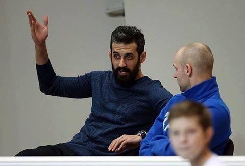 هواداران والیبال و سعید معروف زنیت کازان
