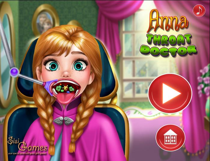 بازی دندان پزشکی آنا