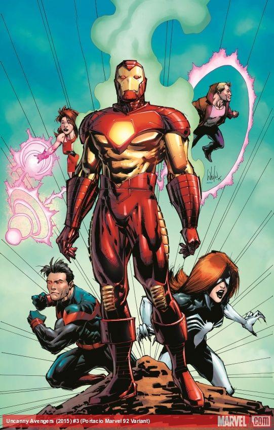 """Uncanny Avengers"""" کمیک"""