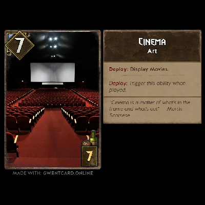 When Cinema Meets Gwent