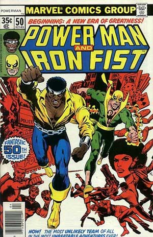 کمیک iron fist - power-man