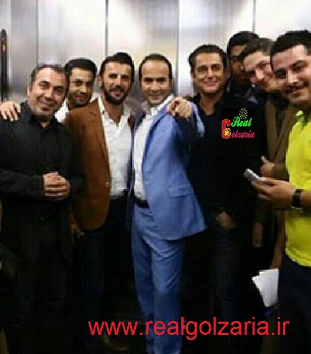 محمدرضا گلزار در کنسرت خنده حسن ریوندی