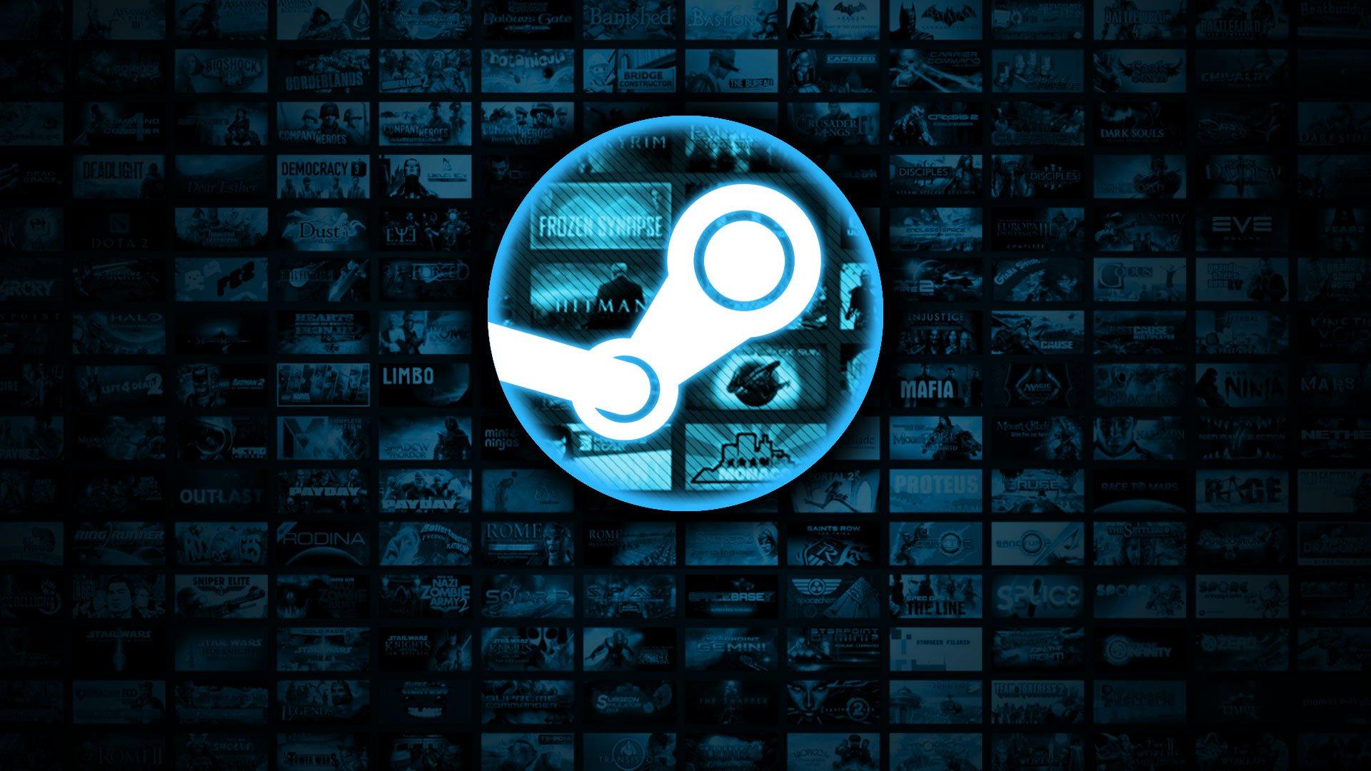 لوگو استیم / Steam