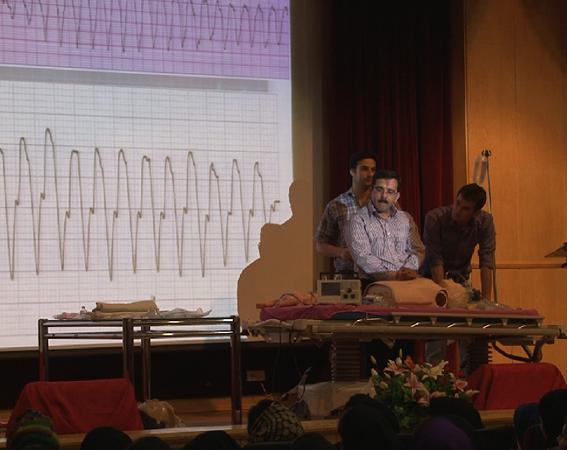 آموزش احیای قلبی ریوی