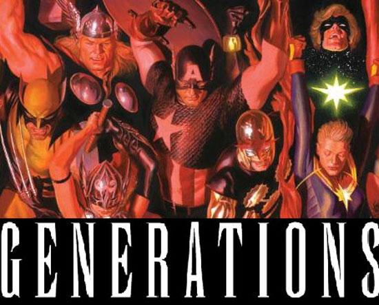 کمیک generations