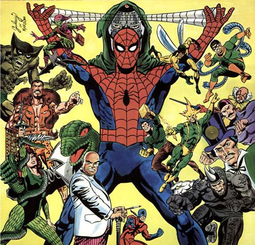 معرفی دشمنان مرد عنکبوتی