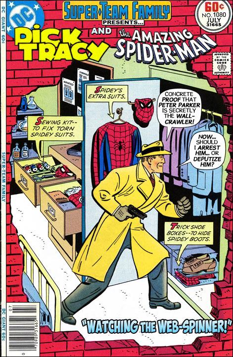مرد عنكبوتي - ديك تريسي