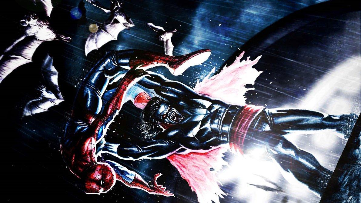 عكس مرد عنكبوتي morbius