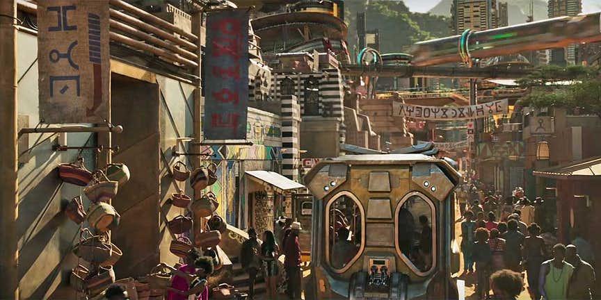 شهری از آینده!