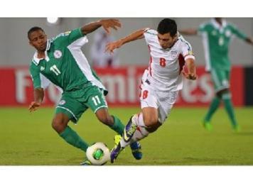 فوتبال ایران و نیجریه