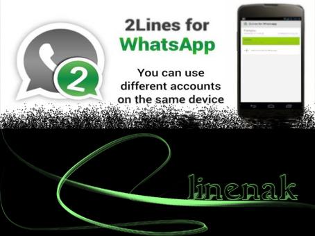 دو اکانت whatsapp بر روی یک گوشی