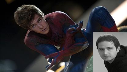 سعید شیخ زاده / در نقش پیتر پارکر(اندرو گارفیلد) در مرد عنکبوتی شگفت انگیز1