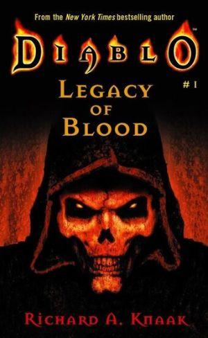 دانلود مجموعه رمانهای دیابلو   میراث خون (  Diablo-Legacy Of Blood)Diablo
