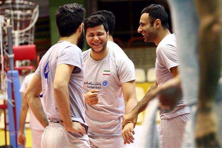 کلوپ هواداران والیبال و سعید معروف