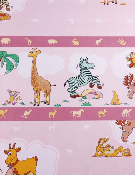 نمونه های کاغذ دیواری اتاق کودکان