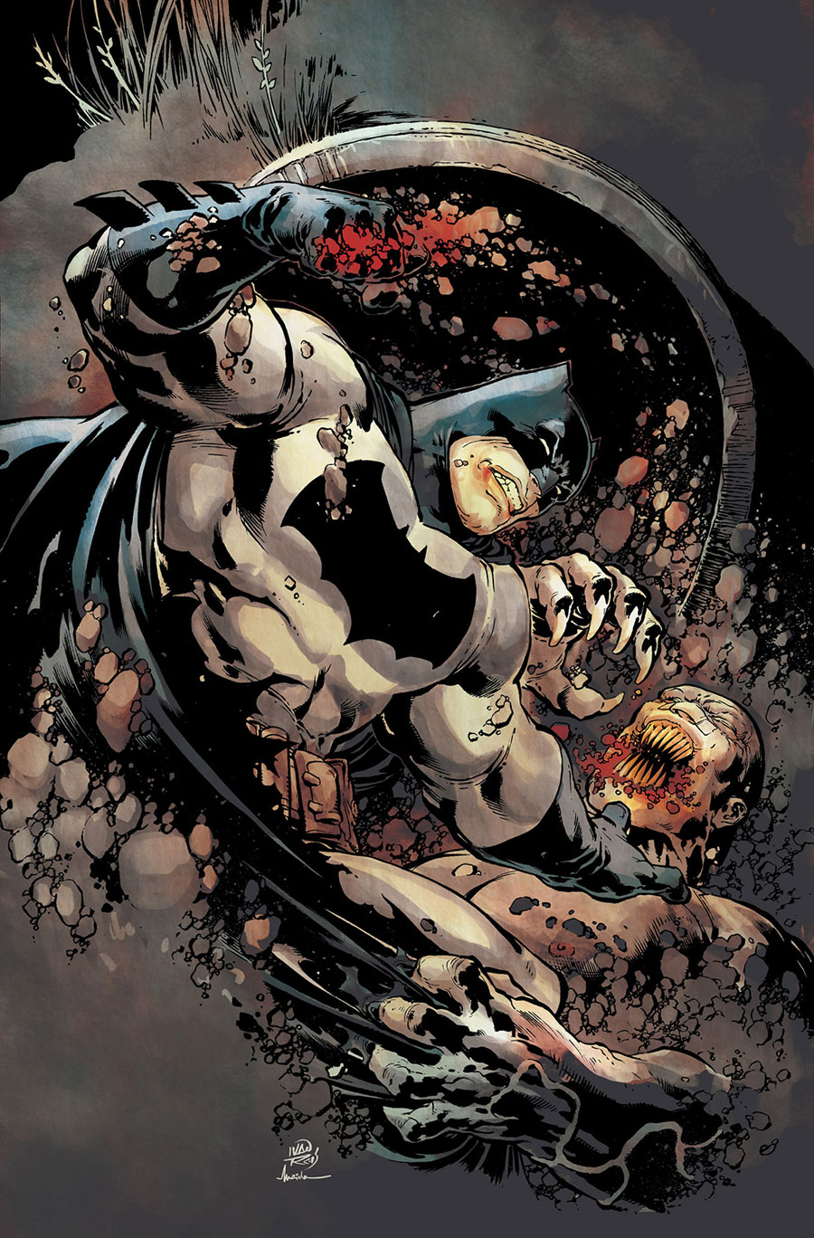 كمیك شوالیه تاریكی 3: نژاد برتر - Dark Knight III: The Master Race