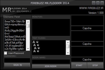 FireBuzz Mr.Flooder 2014 By: Golp3ar@n.c Ehemer